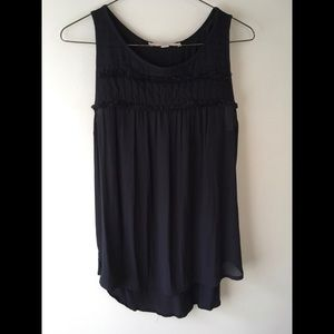 Sheer LOFT Sleeveless Blouse